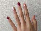 burgundy n pink