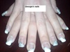 French-Glitter Nails