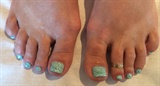 Aqua Nail Stamps