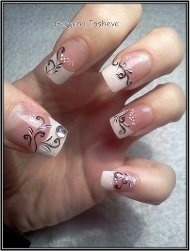 acrylic nails  nail art gallery
