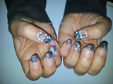 Acrylic + Glitter