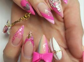 nail art: NTNA Dashing Diva