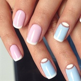 Pastel Moon Manicure