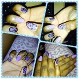 Lilac tribal