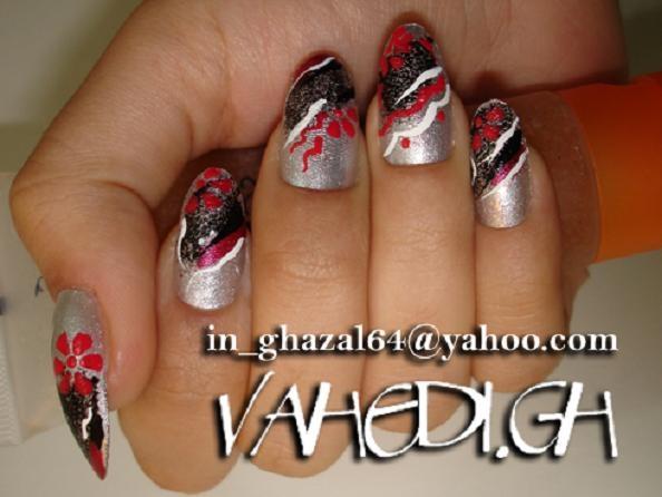 ~ghazal~  black and red
