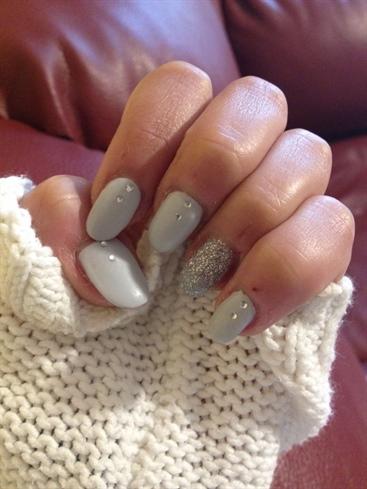 Glitter Grey