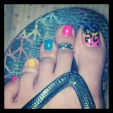 leopard toe
