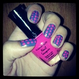 Purple & Pink Polka Dots