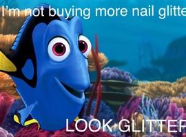 nail art: Glitter ✨