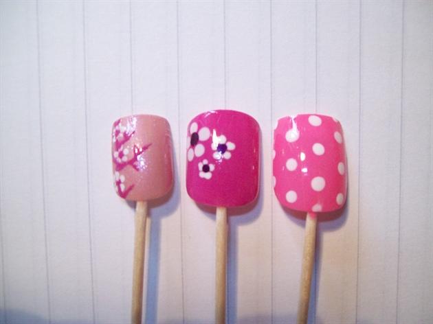 Simple Pink Nail Designs Nail Art Gallery