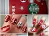 Christmas Inspired Manicures Nail Art