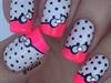 Cute Bright Nails #girly