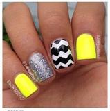 Yellow Fabulous Nails