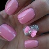 Pastel,girly Nails