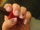 Christmas Nail Art 🔴