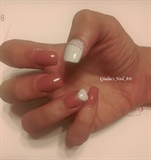 Pink and White Extension