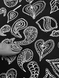 Paisley Print Nail Art