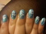 simple but cute nail design
