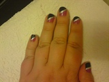 short nail art design