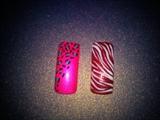 fun nail designs created by me