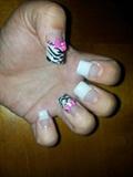 zebra/bows/glitz and glam