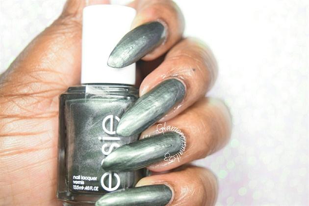 Essie Metallic Green