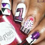 1 Year Blogaversery Nails!
