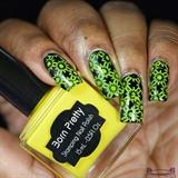 Black & Yellow Stamping