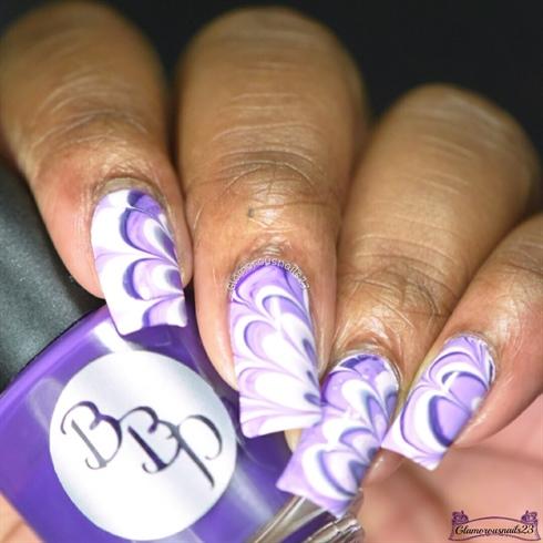 WMW: Dark Purple, Lilac & White