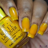 O.P.I Primarily Yellow