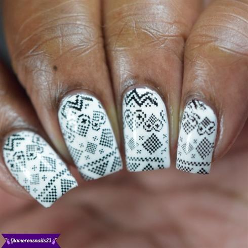 Black & White Stamping