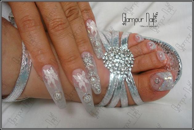 glamour nails nail art gallery