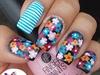 CUTE FLOWERS W/ STRIPES