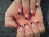 pink and black angles