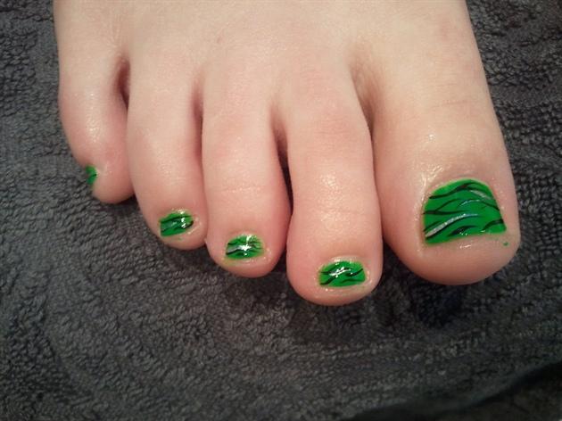 green zebra polish