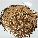 Cinnamon Hex Glitter