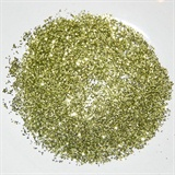 Lime Gold Nail Art Glitter