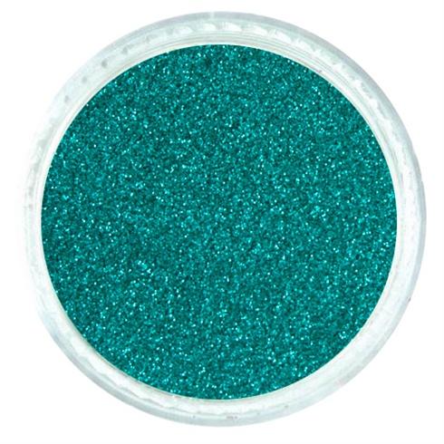 Deep Turquoise Matte Glitter