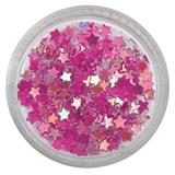 Dark Pink Star Dazzling