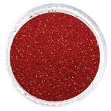 Crimson Red Matte Glitter