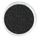 Black Licorice Matte Glitter