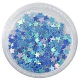 Blue Star Dazzling Glitter