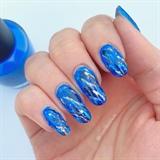 Lapis Lazuli Gemstone Nails! 💙💛