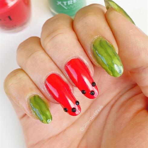 Watermelon Nails 🍉🍉