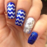 Zigzags & Glitters