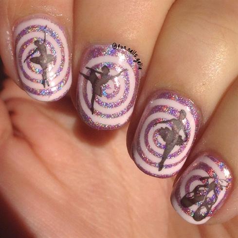 Ballerinas over Spirals
