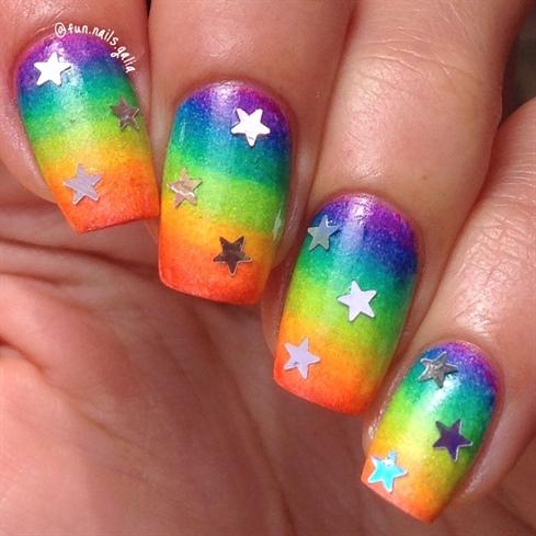 Rainbow and Stars