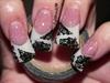 Flared Damask Nails