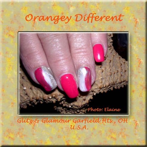 Orangey Different