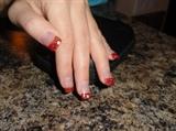 Red Glitter Christmas